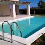 villa con piscina indipendente